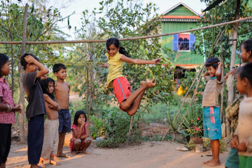Children games from around the world
