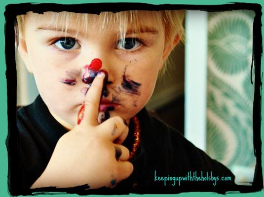 Benefits of messy play