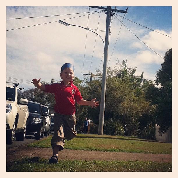 run my son