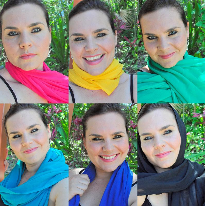 scarfs from India