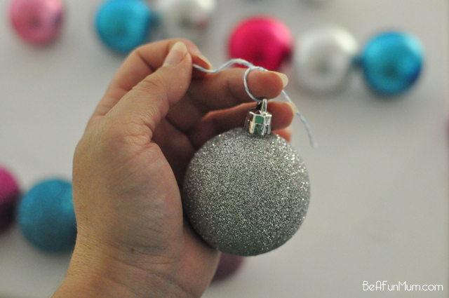 Bauble christmas tree be a fun mum for Outside christmas baubles
