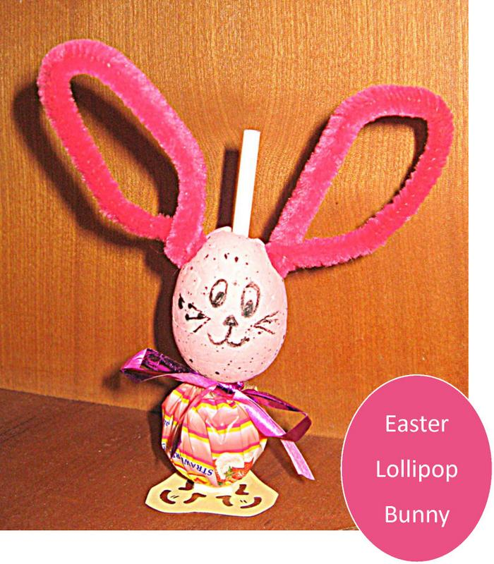 easter lollipop bunny
