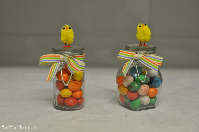 Easter Craft -- Chicky Jars