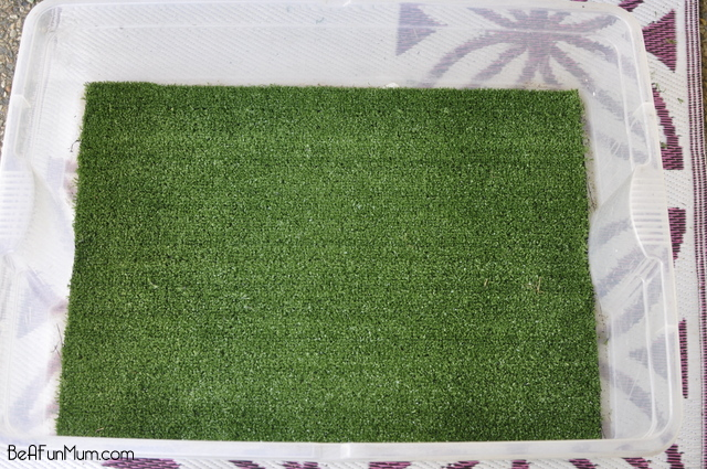 artifical grass play scene