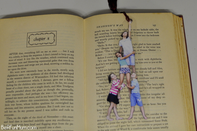 mother's day photo bookmark