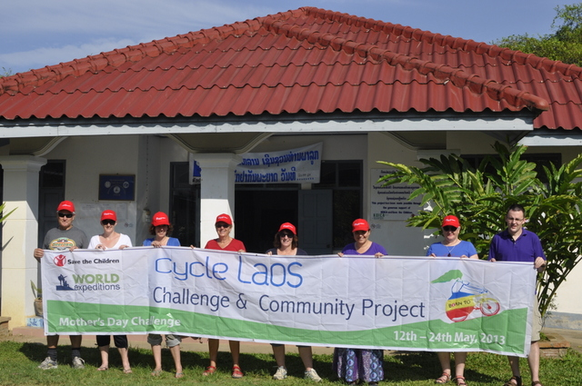 save the children cycle laos challenge