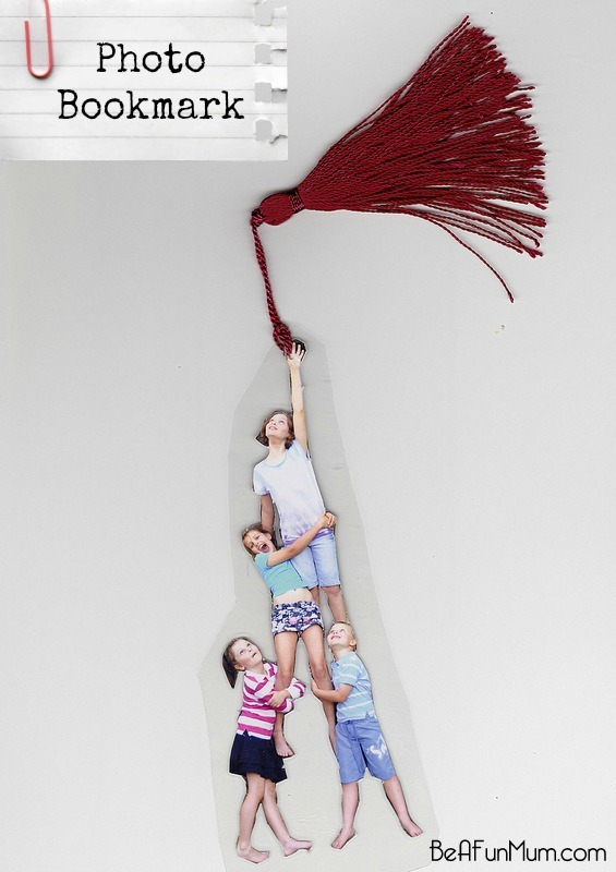 cute and funny bookmark photograph mother's day