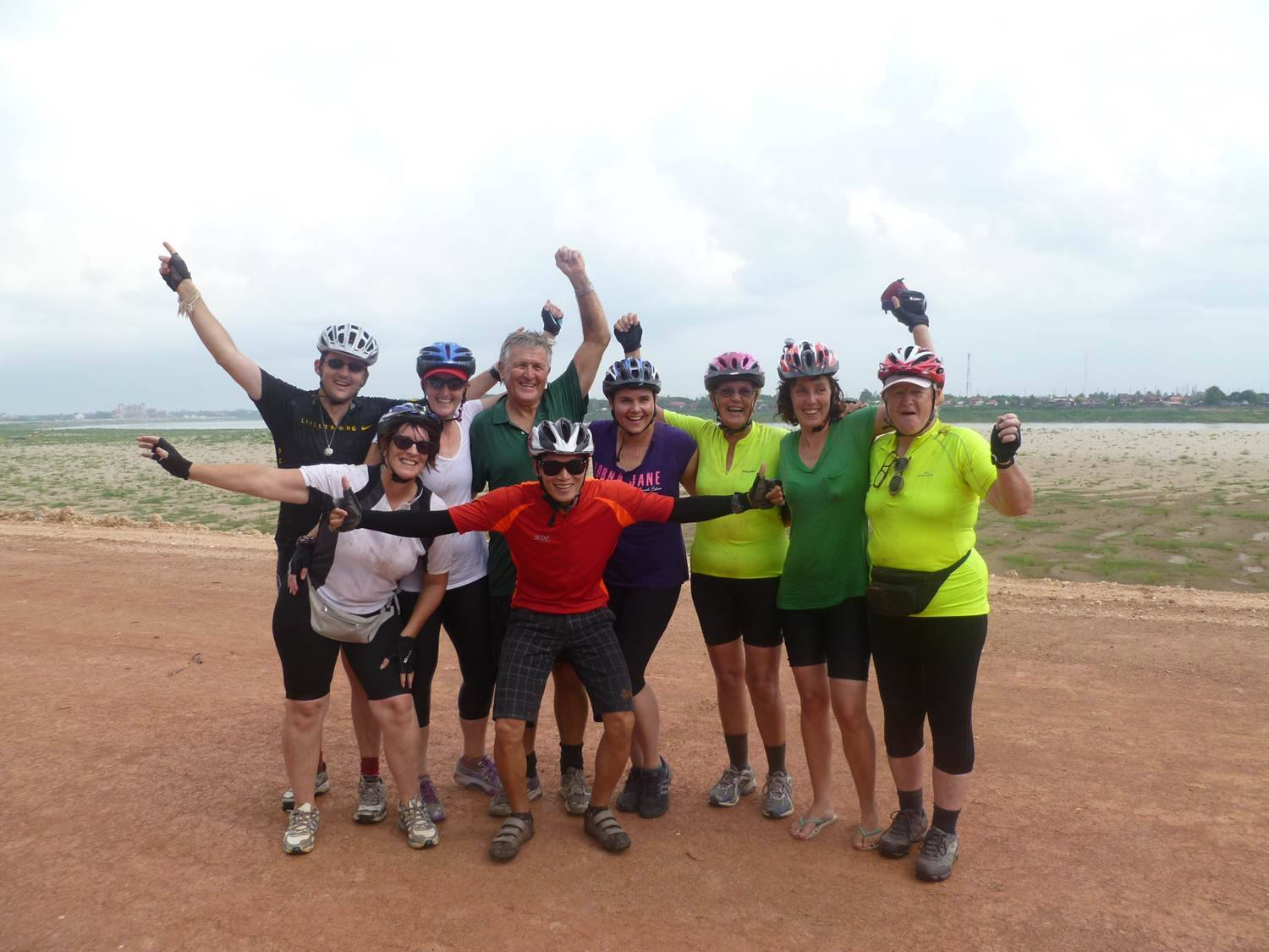 finish -- save the children cycle in laos