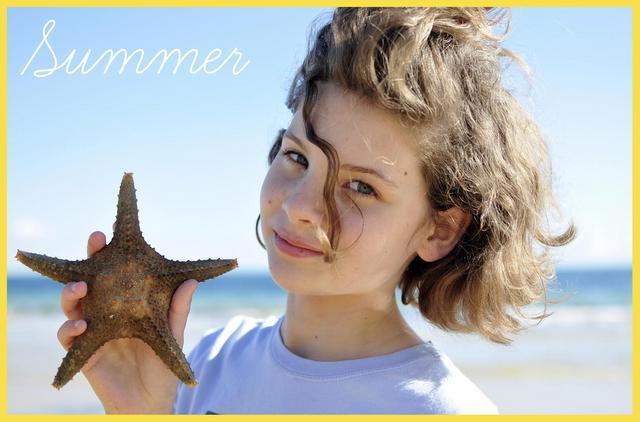 seasonal craft -- summer