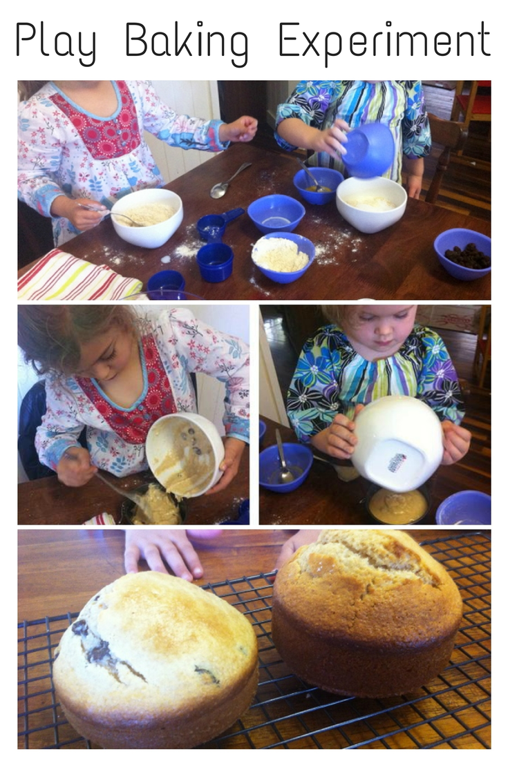 Play Baking Experiment activity - Science with Kids