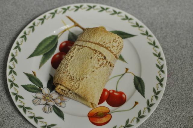 baked bean wrap