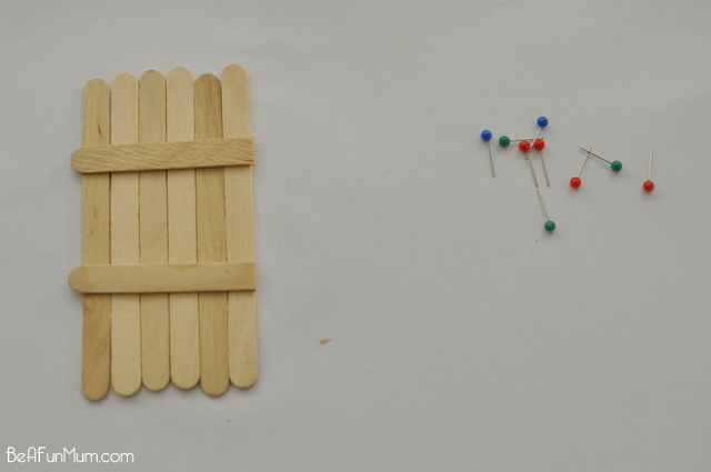 paddle pop door / popsicle stick doors