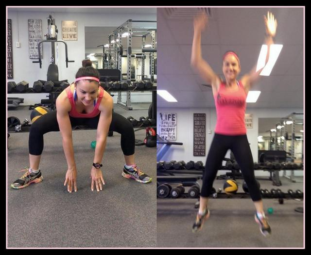 15 minute circuit -- frog jumps