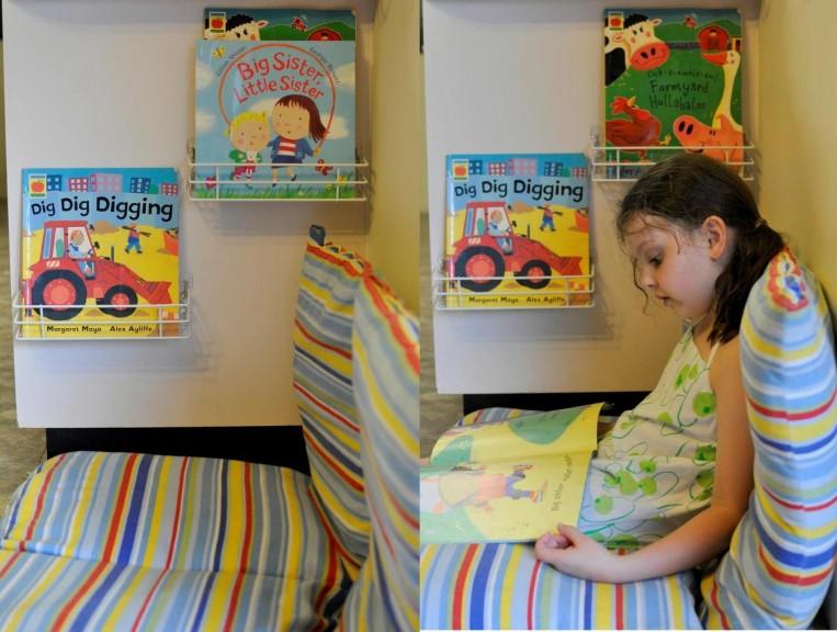 spice racks reading -- play room organisation
