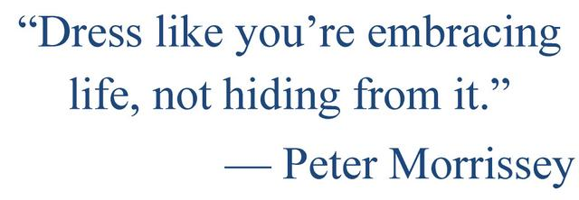 peter morrissey quote