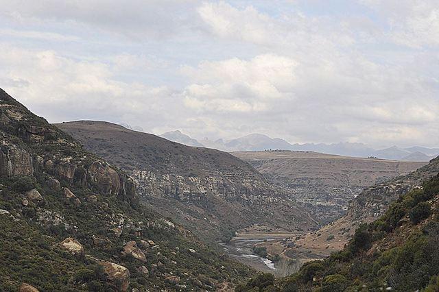 pony trek -- Malealea, Lesotho, Africa