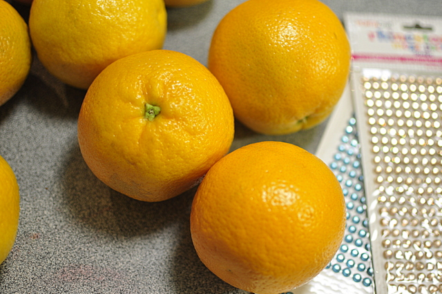 decorative oranges