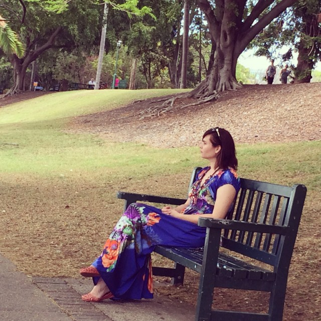 park bench seat - brisbane