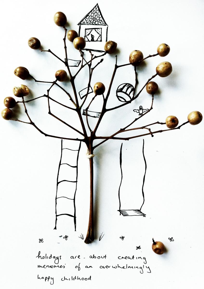 Happy Childhood quote - Kelly Burstow - beafunmum.com