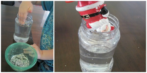 make your own snow globe - Assemble Snow Globe -  on beafunmum.com