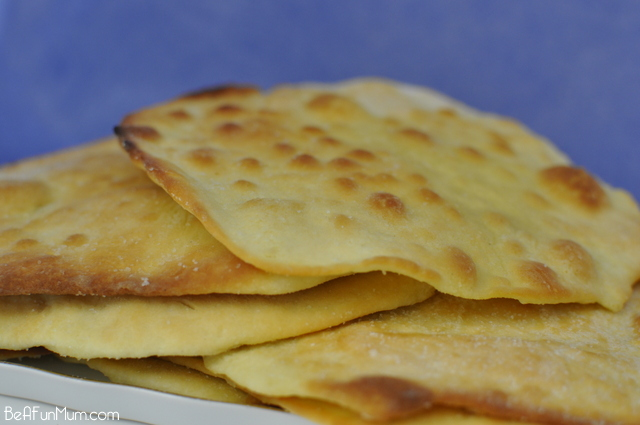 Easy Flat Bread Recipe - only 2 ingredients