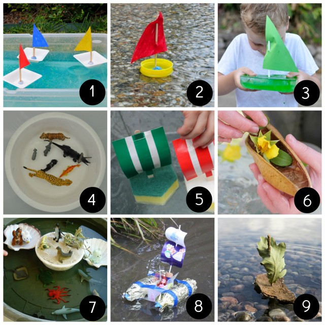 Summer fun for kids -- boat play - on beafunmum.com