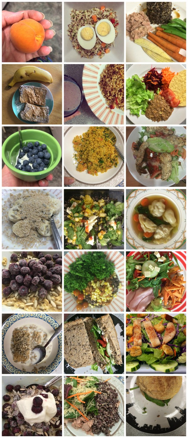 Clean Eating -- Weekly Food