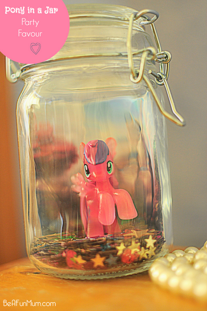 Pony in a Jar - cute party favour