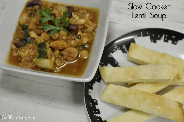 Slow Cooker Lentil Soup