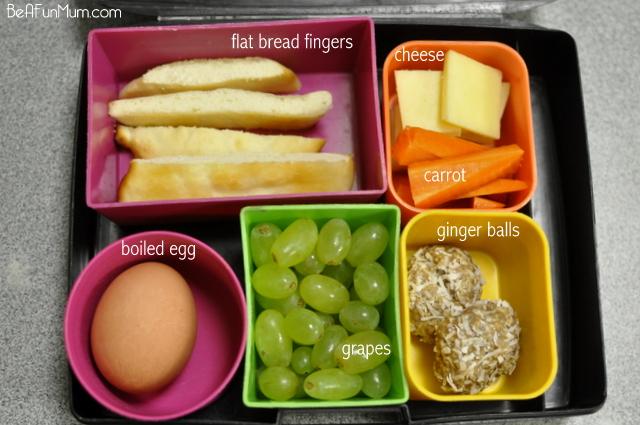 Lunch Box idea - flat bread