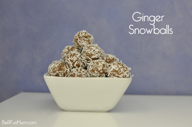 ginger snowballs recipe