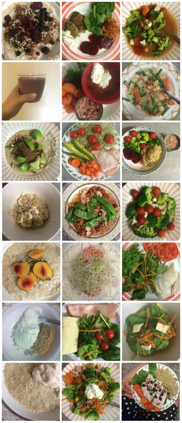 Week 7 -- clean-er eating