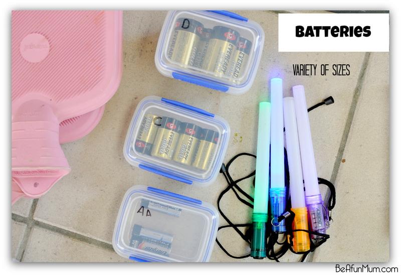 camping - batteries