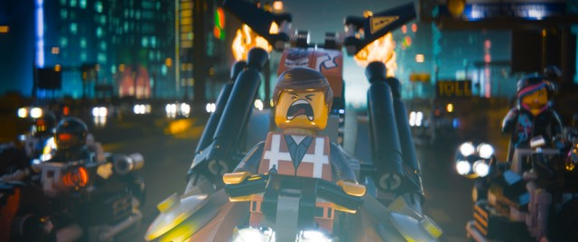The Lego Movie Wyldstyle Emmet Car Scene