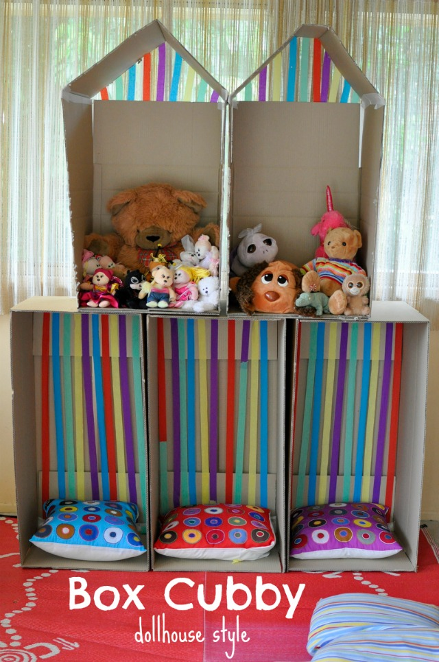 box cubby - dollhouse style
