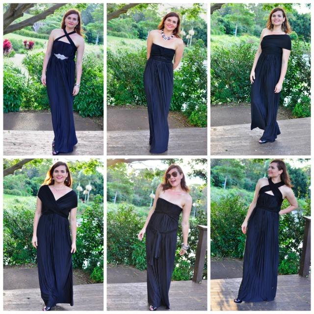 Sacha Drake Grecian Convertible Dress Review