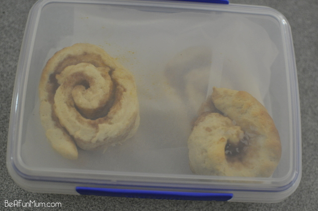 Freeze Cinnamon Scrolls