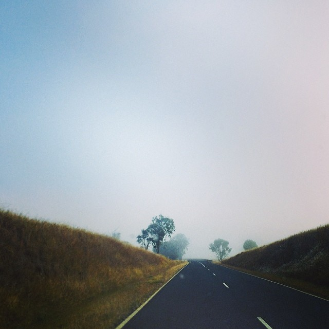 Drive through the fog