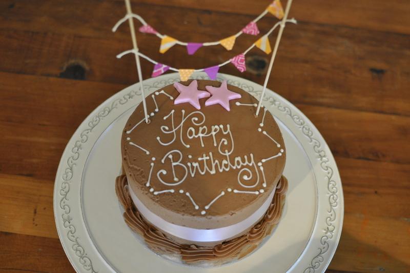 DIY Washi Tape Cake Bunting