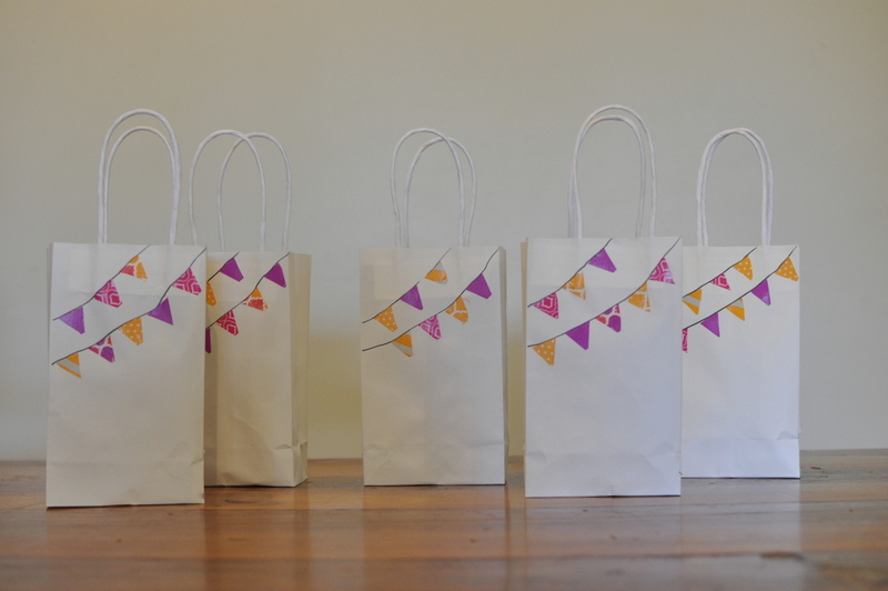Washi Tape Loot Bags