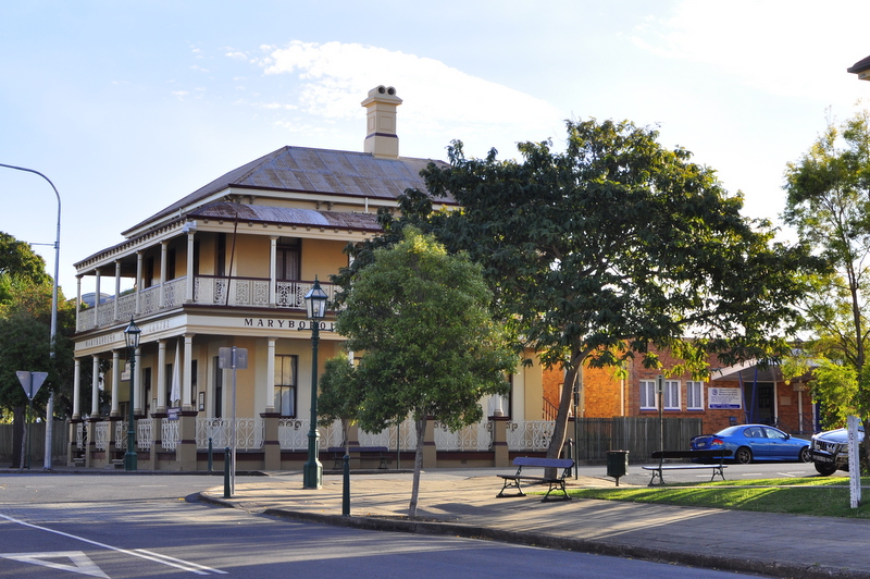 Historical Buildings- Maryborough - Fraser Coast - Queensland - Home of Mary Poppins!
