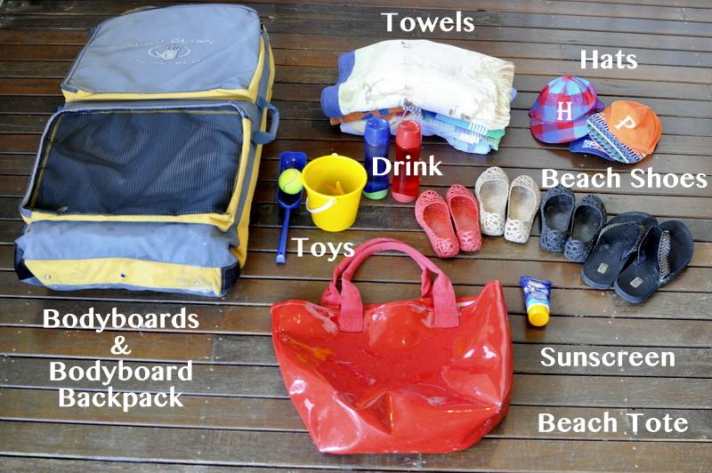 Staple Items to Take to the beach