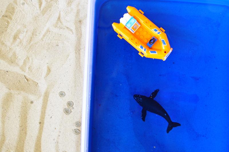 Imaginative Play - sand and sea
