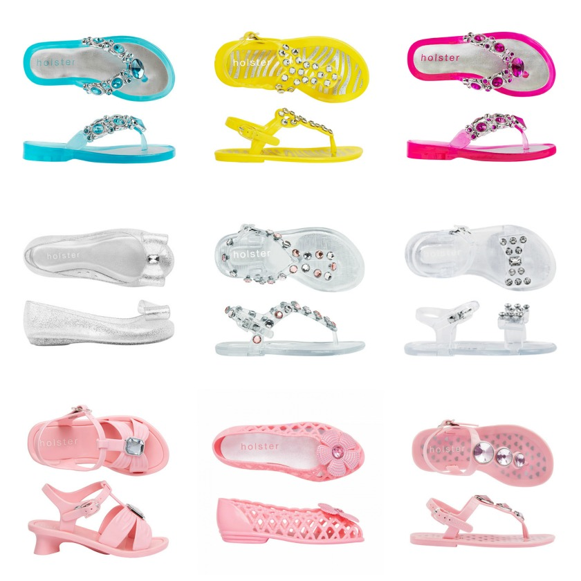 jelly shoes - girls - Holster
