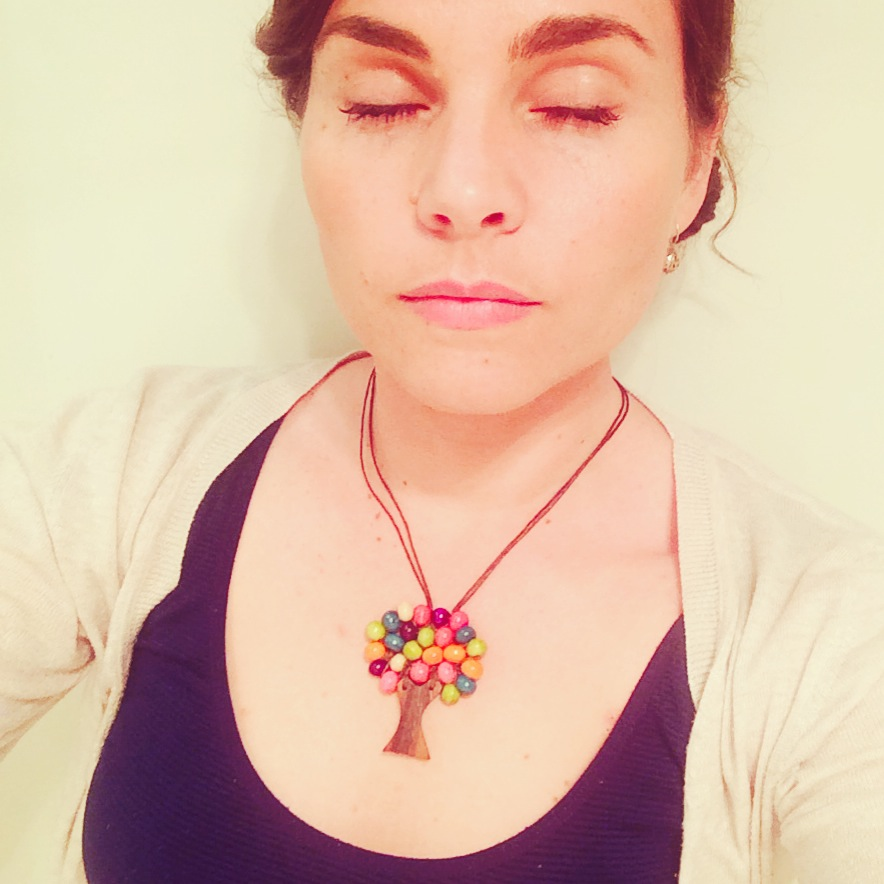 Bead Tree Necklace