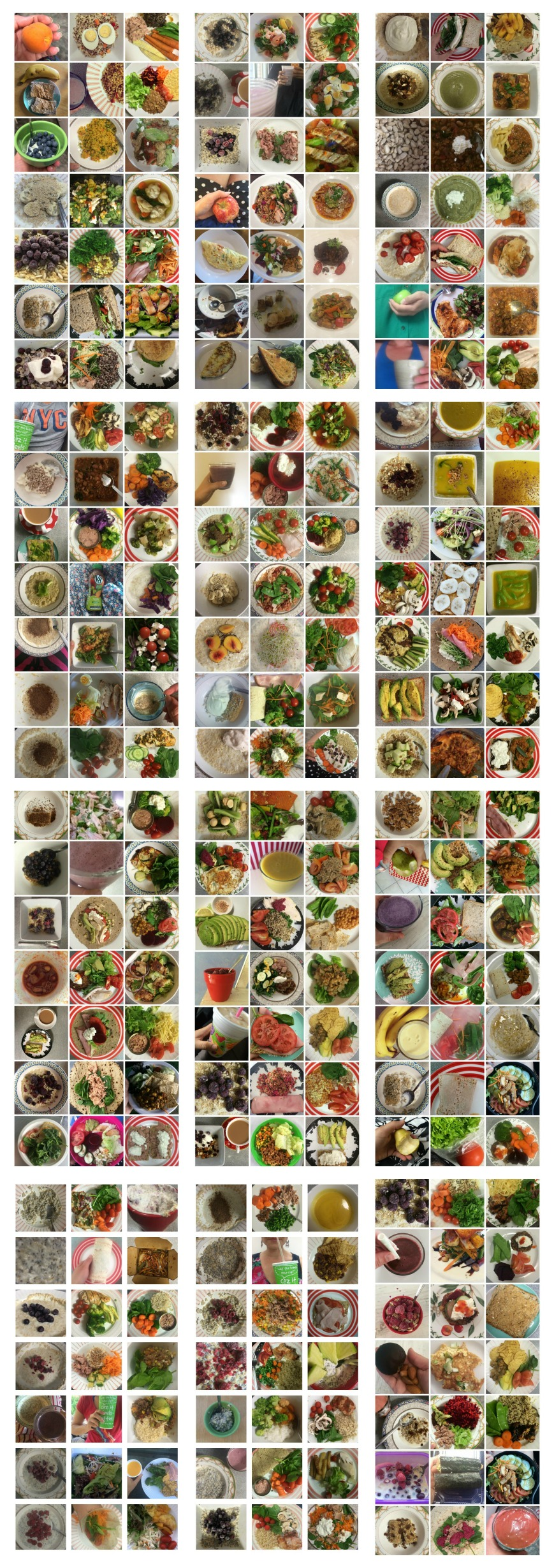 healthy food 12 Week Challenge