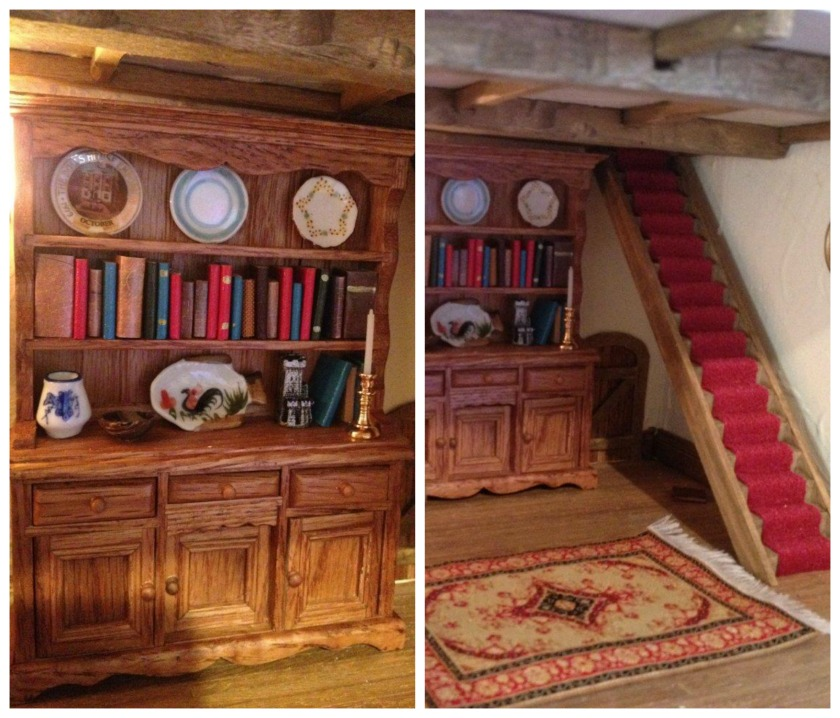 Brambly Hedge - mouse dollhouse - lounge