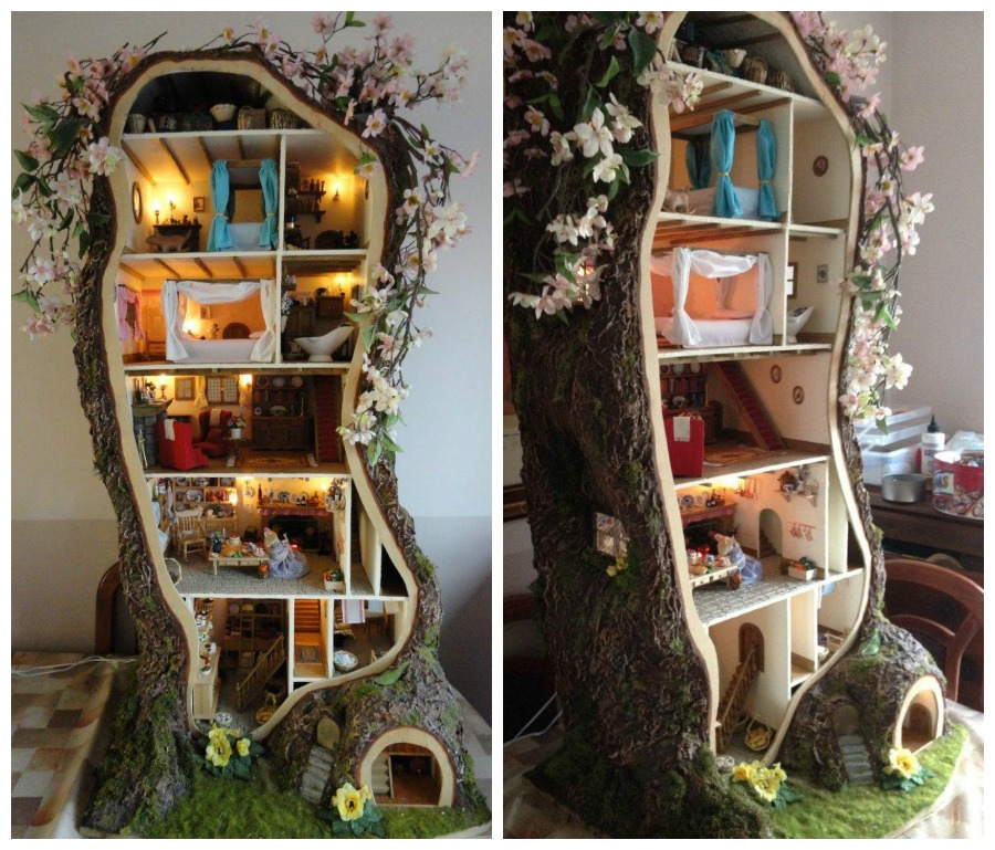 Brambly Hedge - mouse dollhouse