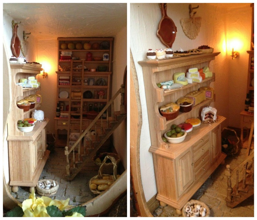 Brambly Hedge - mouse dollhouse - pantry