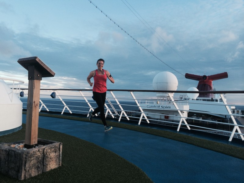 RUN on a cruise ship